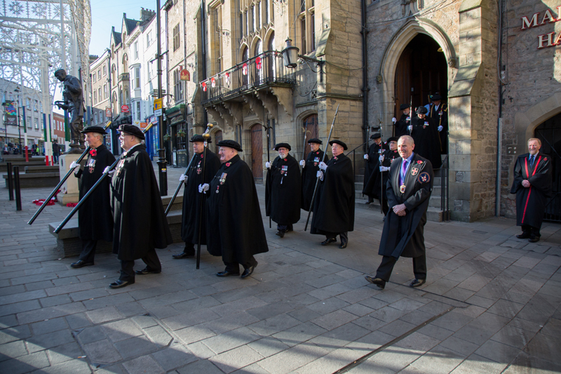 Remembrance Parade 2017 Durham City Freemen