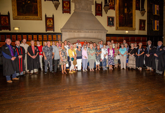 Freemen of Berwick Visit July 2018