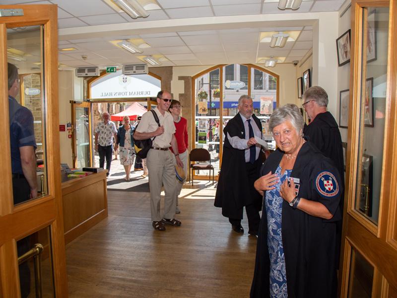 Freemen Of Berwick Visit July 2018 Durham City Freemen