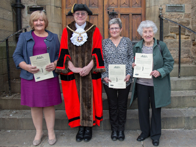 Great Grandmother and Two Sisters Become Freemen