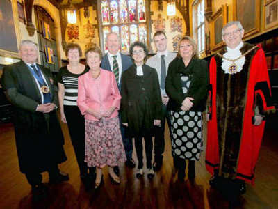 Six New Durham Freemen Durham City Freemen