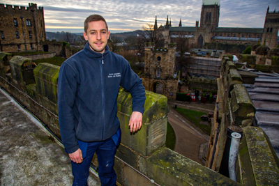 "Apprentice Lands ""Dream Job"" in Durham's World Famous Castle"