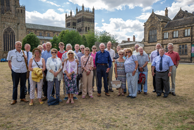 Visit by Berwick Guild