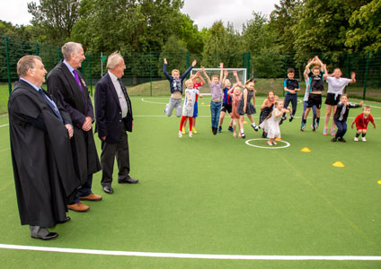 Sporting Asset for Nevilles Cross Primary School