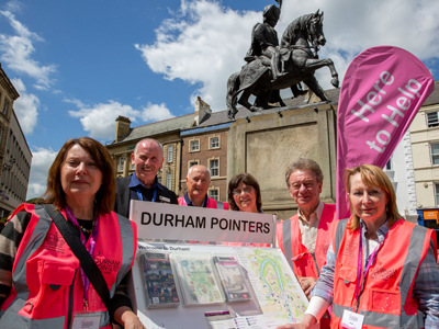 Freemen's Generosity Ensures City Volunteers Stay  In The Pink